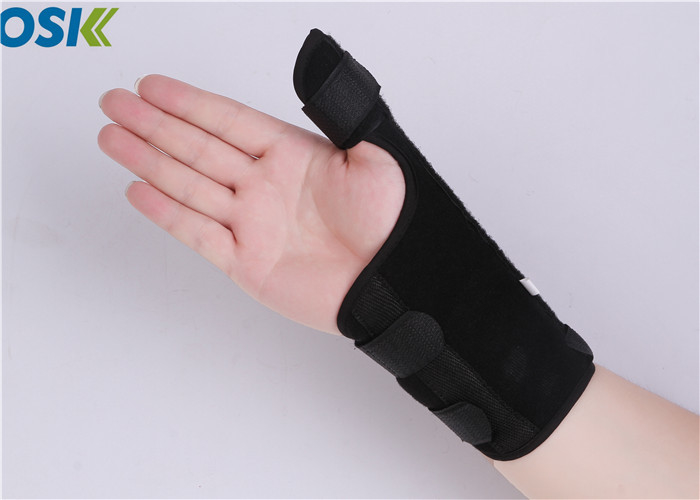 Adjustable Thumb Support Brace Composite Cloth Material Customized Logo